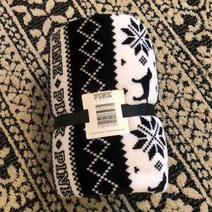 PINK Sherpa Blanket